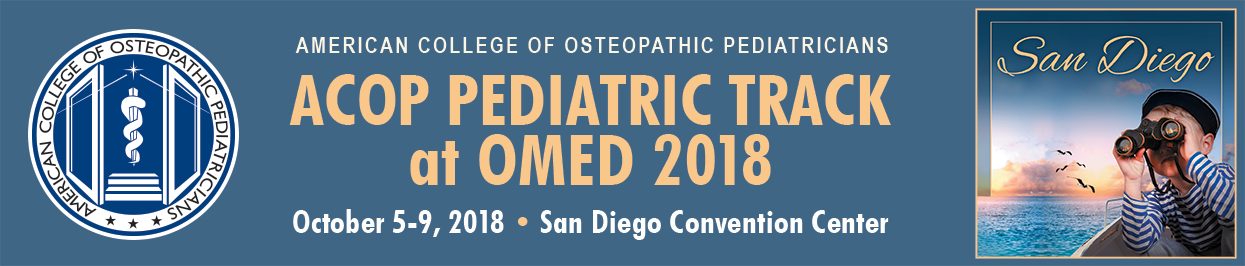 ACOP Pediatric Track at OMED 2018 MMG: Program & Schedule